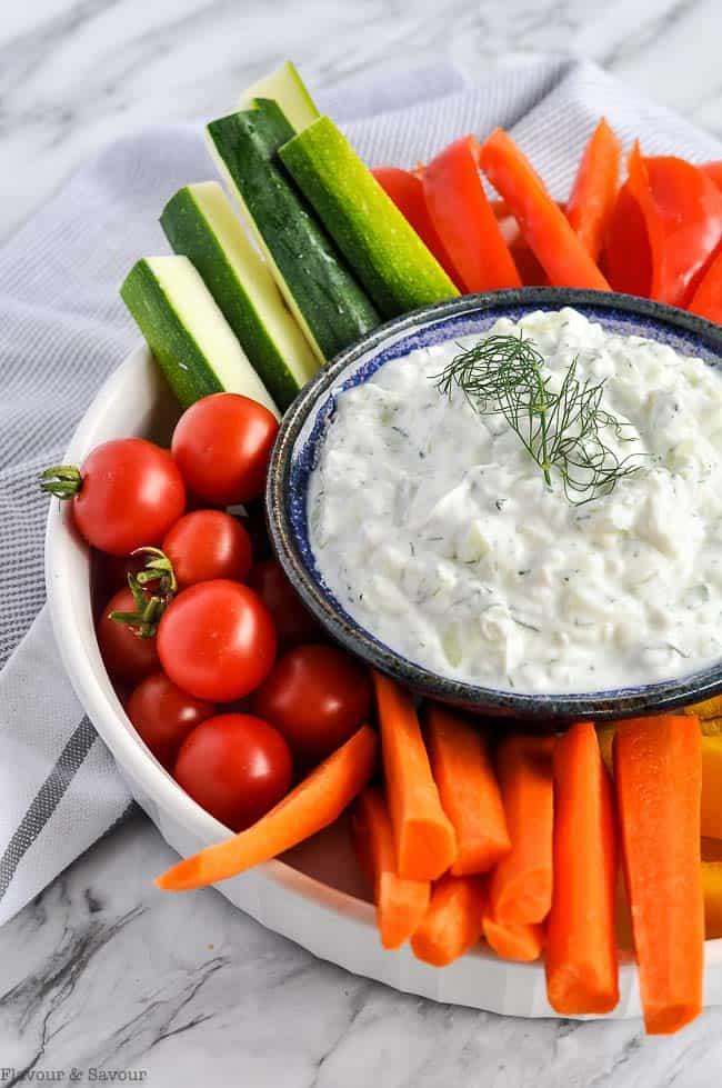 How To Make Authentic Greek Tzatziki Sauce Flavour And Savour
