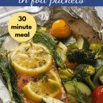 pin for Wild Salmon in Foil Packets