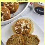 Pinterest PIn for Chai-Spiced Roasted Pear Oatmeal Muffins
