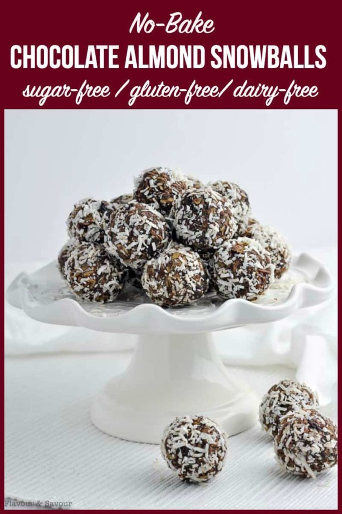 pin for Chocolate Snowballs