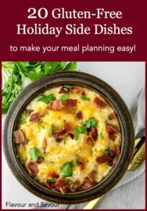 PInterest pin for 20 Gluten-free holiday side dish recipes