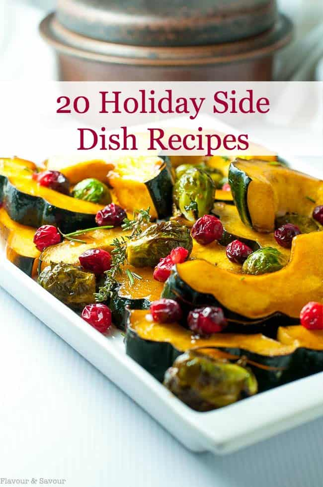 20 holiday side dish recipes title