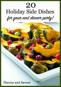 Pinterest Pin for 20 Holiday Side Dish Recipes Ideas