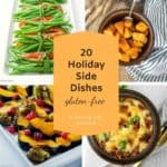 20 Holiday Side Dishes graphic