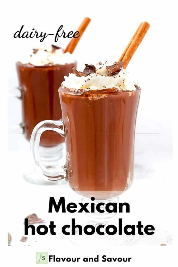 Image and text for Mexican hot chocolate