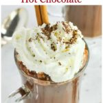 Pin for Dairy-Free Mexican Hot Chocolate