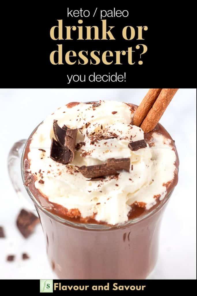 Pinterest pin for Drink or Dessert?