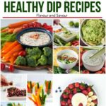 PInterest Pin for Healthy Dip Recipes