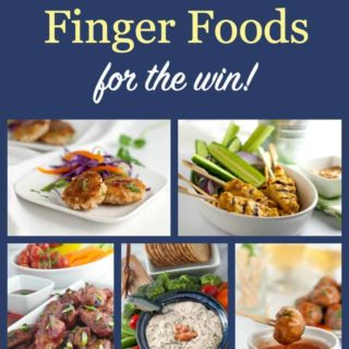 PInterest Pin for Game Day Finger Food ideas