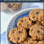 PInterest Pin for Keto Almond Butter Chocolate Chip Cookies