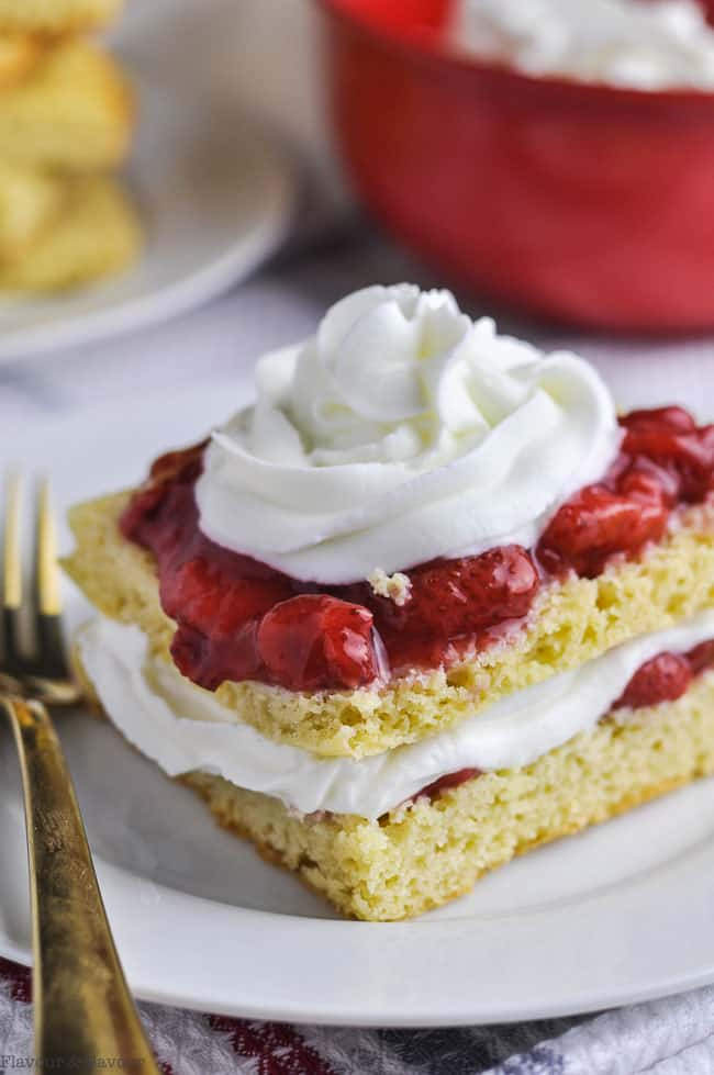 strawberry shortcake for diabetic diet