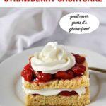 pin for Keto Strawberry Shortcake