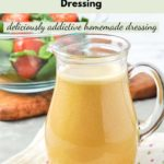 Pinterest pin for Nutritional Yeast Dressing 2