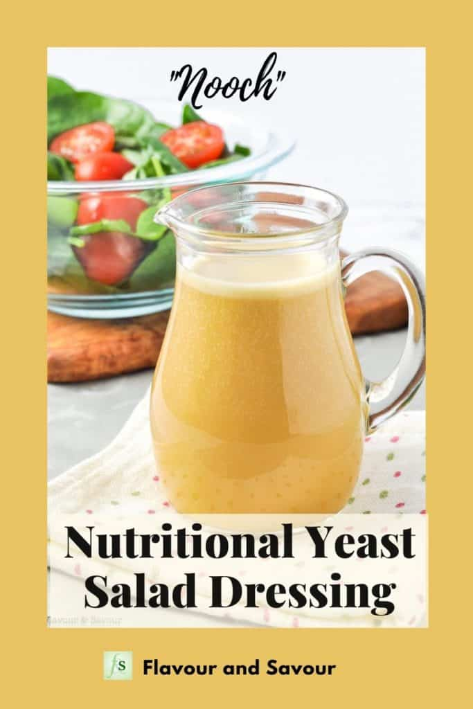 Image and text for Nutritional Yeast Salad Dressing