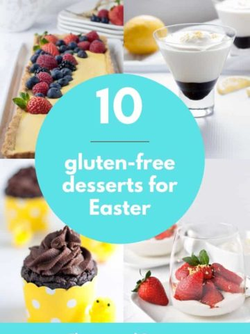 10 Gluten-free Desserts for Easter and Spring