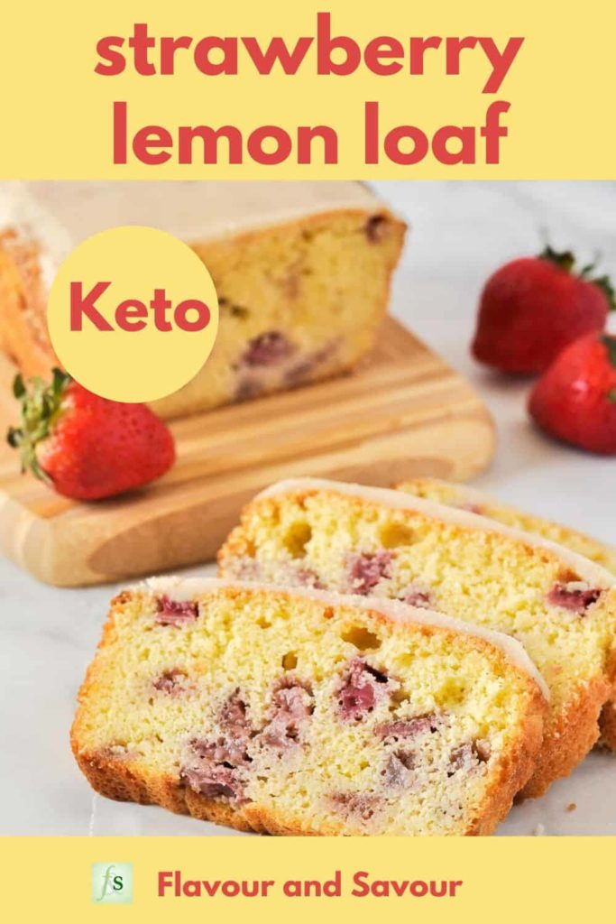 PIn for Strawberry Lemon Loaf