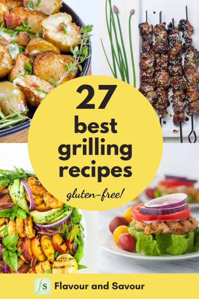 Pinterest Pin for 27 Favorite Grilling Recipes