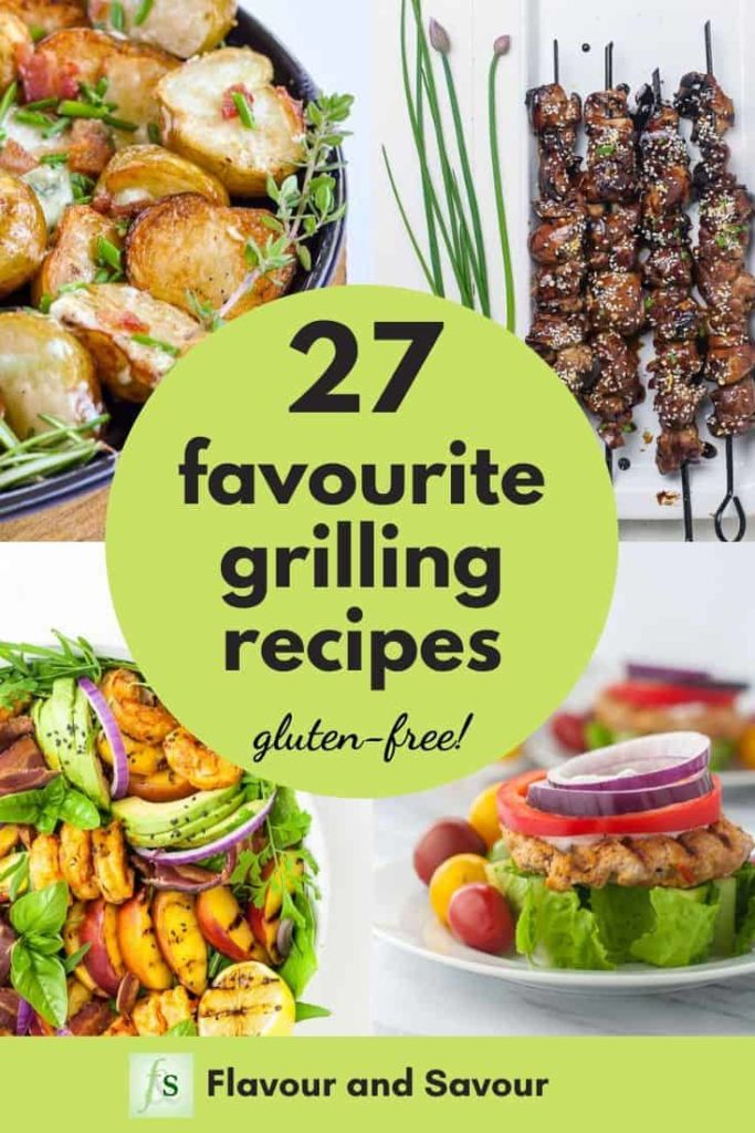 27 Favourite Grilling Recipes pin
