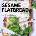 PInterest PIn for Whipped Goat Cheese Sesame Flatbread