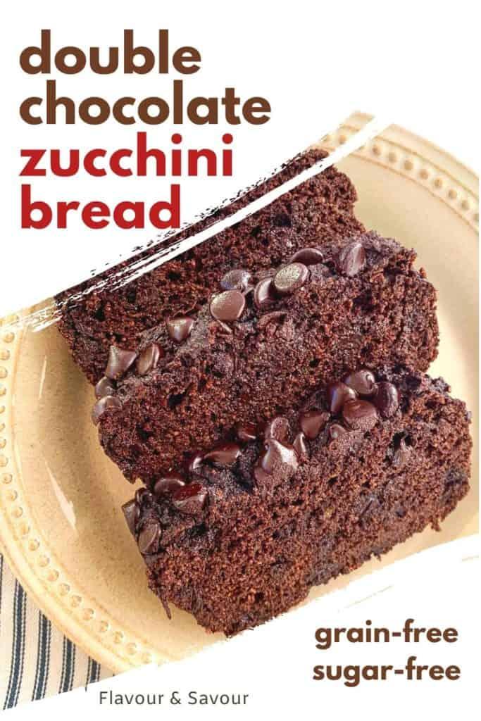 Grain-Free Double Chocolate Zucchini Bread