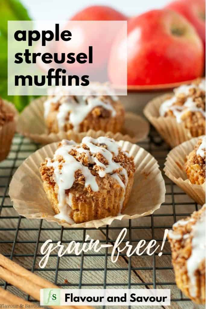 Apple Muffins image with text overlay