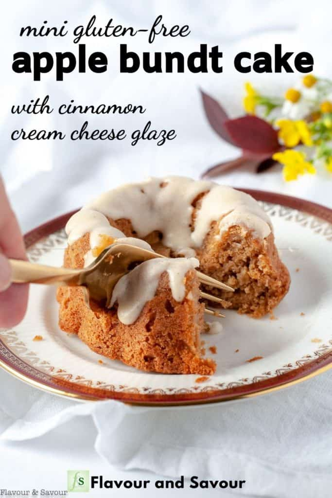 Text on Image for Apple Bundt Cake