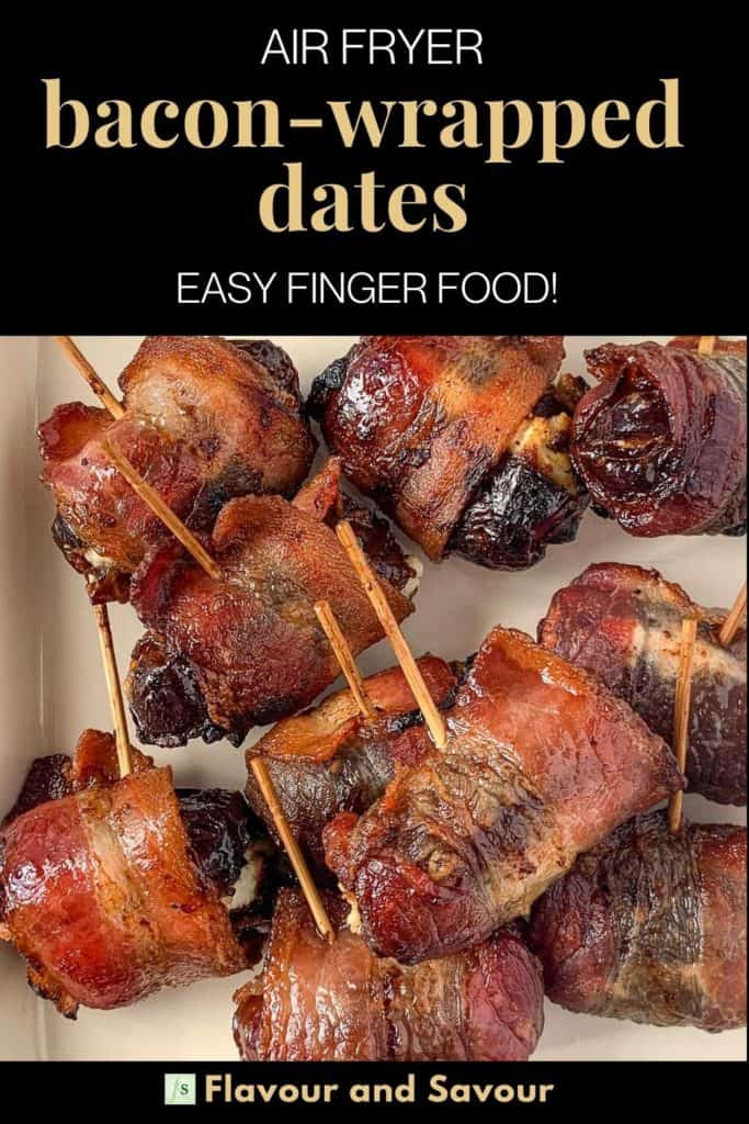 Image and text for Air Fryer Bacon Wrapped Dates