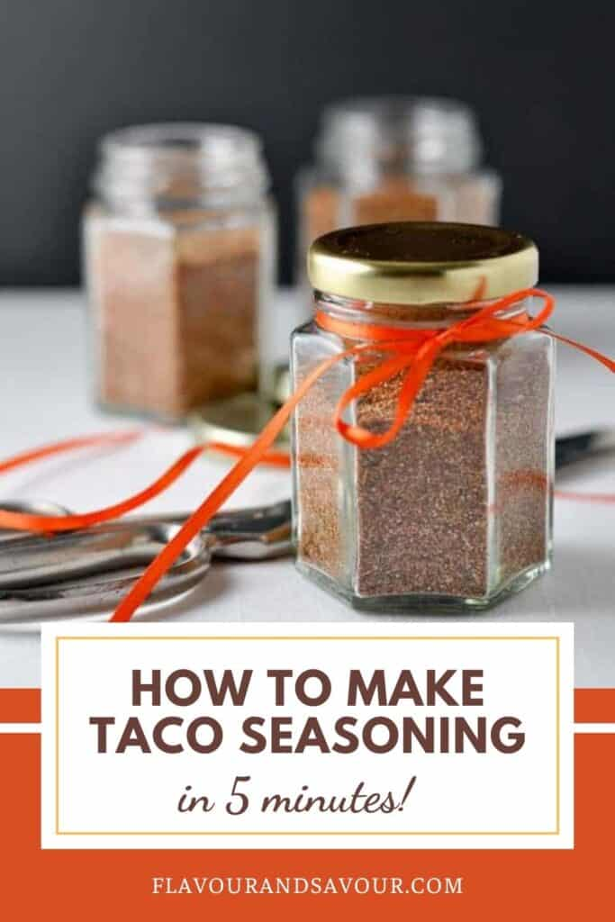 Image and Text for Taco Seasoning Mix